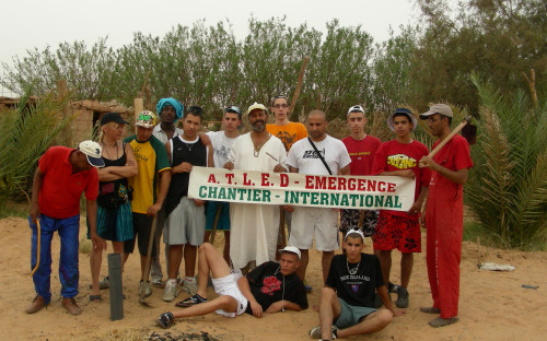 """Planting for our planet"" of Naturefriends Algeria aims to defy advancing desertification."