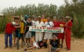 """""""Planting for our planet"""" of Naturefriends Algeria aims to defy advancing desertification."""